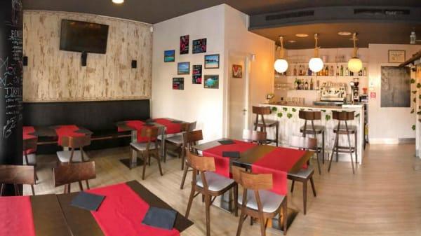 Vista de la sala - Sa Cova Burger, Vilanova Del Valles