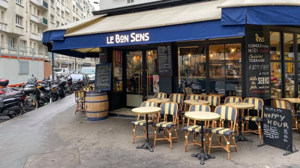 Devanture - Le Bon Sens, Paris