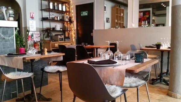 Salle du restaurant - l 'Ardoise, Bandol