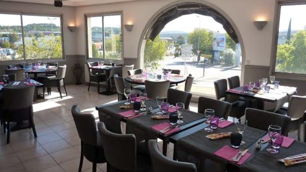 Salle du restaurant - Brasserie du Centre, Aix-en-Provence