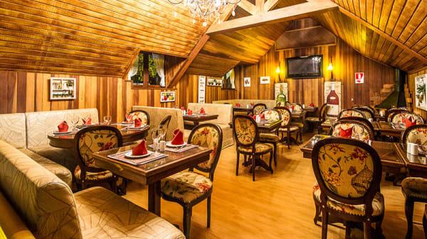 Sala - Restaurante La Gália, Campos do Jordão