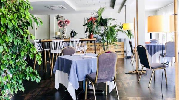 Vista del interior - Restaurant Figueres Parc, Llers