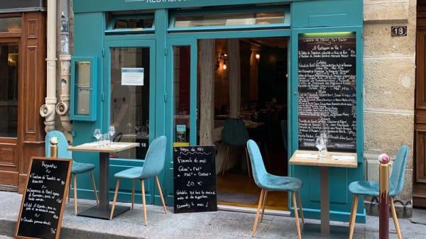 Terrasse du Restaurant - Le Béguin des Mets, Paris