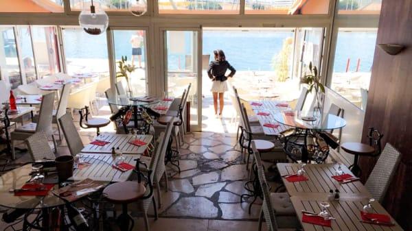 Vue de la salle - La Tartane, Toulon
