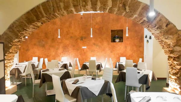 Veduta della sala - Krokos, Agrigento