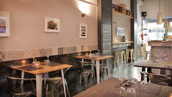 vista interior - Globo Restaurant Barcelona, Barcelona