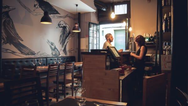 sala do restaurante - Os Bons Malandros, Lisboa