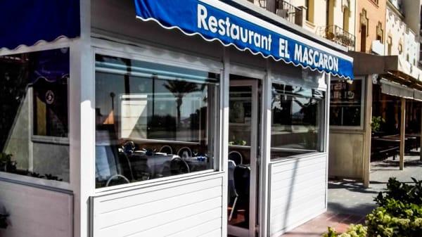 Entrada - El Mascarón, Sitges