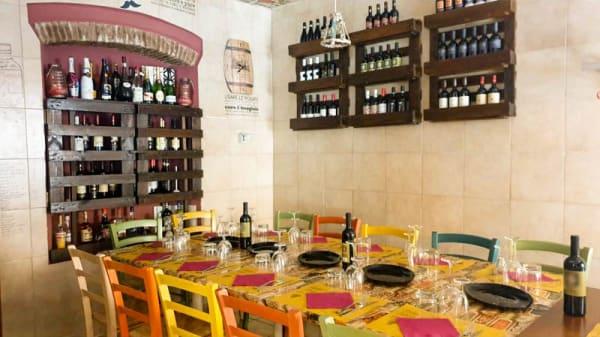 Vista sala - Cotto e Mangiato in macelleria, Livorno