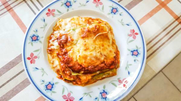 La lasagna - Pizza E, Roma