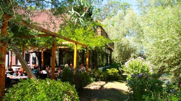 Terrasse et jardin - Auberge de la Nachtweid, Ostwald