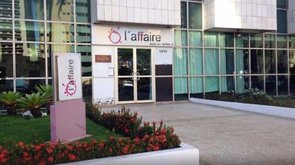 rw fachada - L'Affaire, Brasília