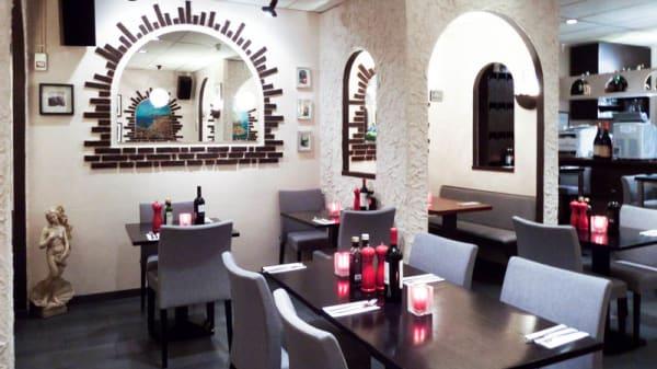 restaurantzaal - Da Rosario, Hoofddorp