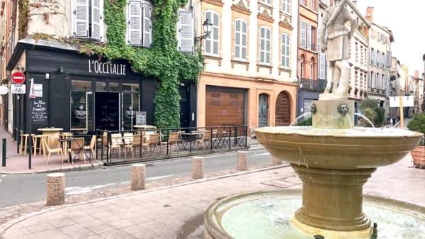 Devanture - L'OccItalie, Toulouse
