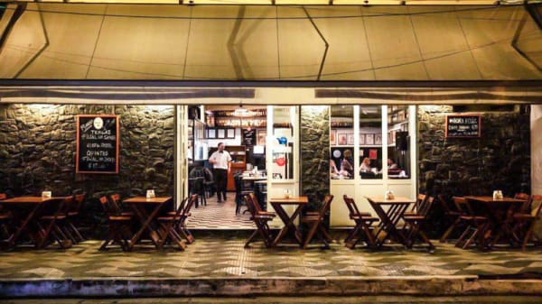 Fachada - Bar Filial, São Paulo