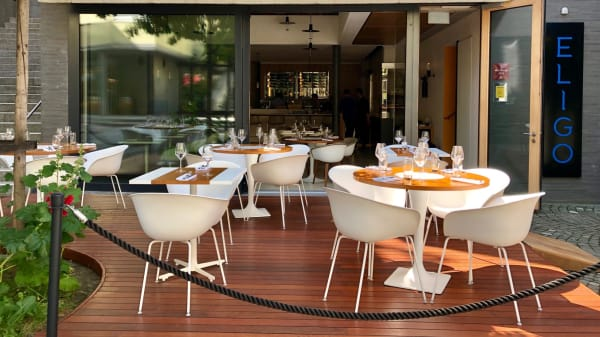 Terrasse - Eligo Bistronomia Italiana, Lausanne