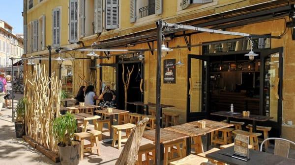 Devanture - L'Artisan du Burger, Aix-en-Provence