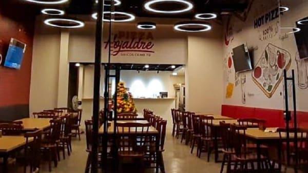 Vista del interior - Pizza Hojaldre (El Nogal), Bogotá