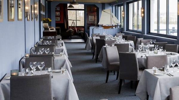 La salle de restaurant - Les Voiles, Les Mureaux
