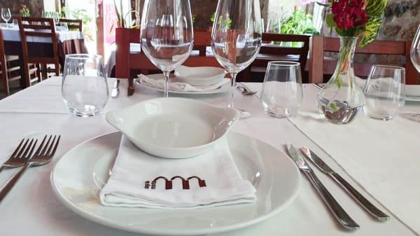 Mesa - Restaurante Adega do Monte, Vila do Conde