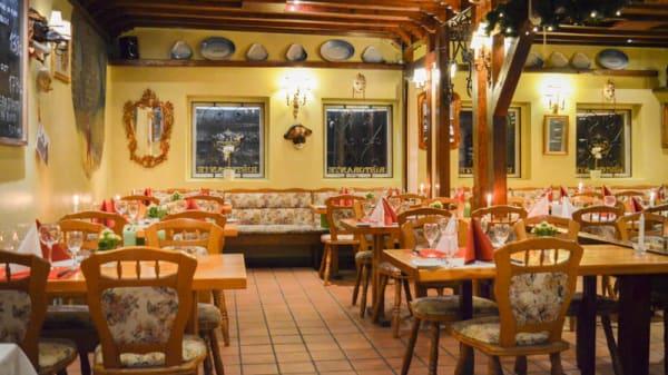Restaurangens rum - Rugantino, Søborg