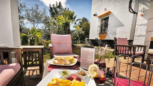 vista terraza - Cerro de Hijar - Hotel Cerro de Hijar, Tolox