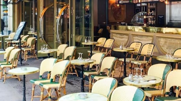 Terrasse - Au Rond Point, Paris