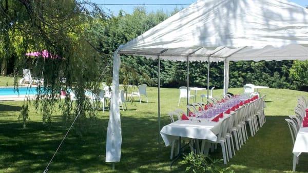 Le jardin - La Table de Cupidon, Rians