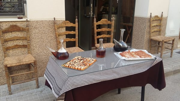 Terraza - El Celler, Sant Joan Samora