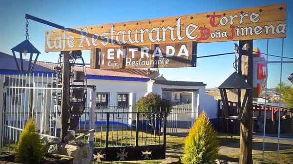 Vista exterior - Doña Jimena, Consuegra