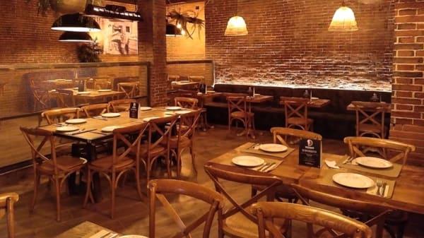 Sala del restaurante - Mozzafiato, Barcelona