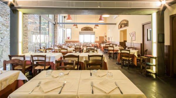 Sala del ristorante - Da Romolo alla mole Adriana, Rome