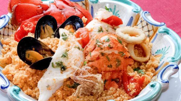 insalata di pesce misto - La Marinara, Marsala