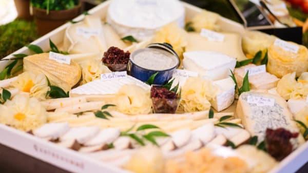 Assortiment de fromages - Le Jazzy Brunch du Méridien Étoile, Paris