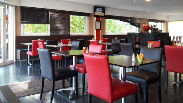 Salle du restaurant - Le Declic, Montpellier