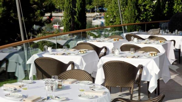 Terrasse - La Terrasse du Beau-Rivage Palace, Lausanne