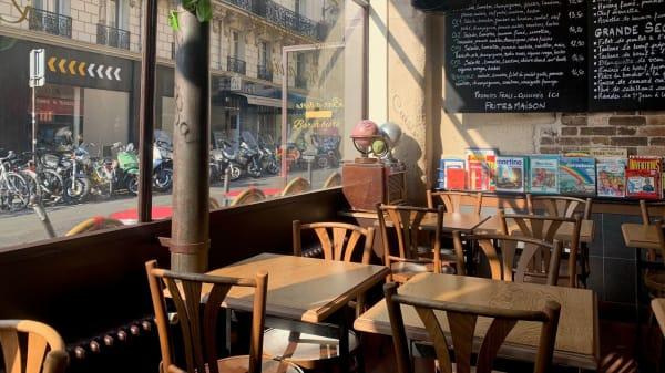 Vue de la salle - Le Préau, Paris