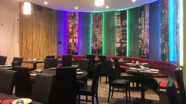 Sala del ristorante - Saikesushi, Venezia