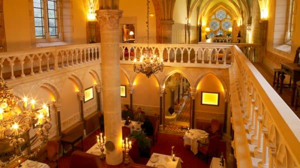 Aperçu de l'intérieur - Abbaye de la Bussiere - le 1131, La Bussière-sur-Ouche