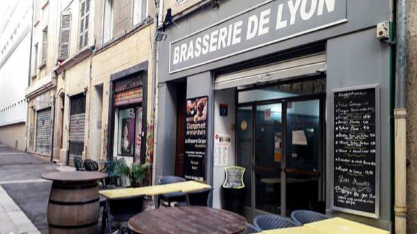 Entrée - Brasserie de Lyon, Marseille