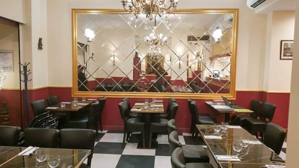 Vue de la salle - Mumbai Lounge, Paris