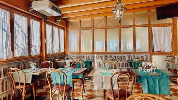 Veduta dell interno - La Veranda dell'Hotel Villa Sara, Venezia