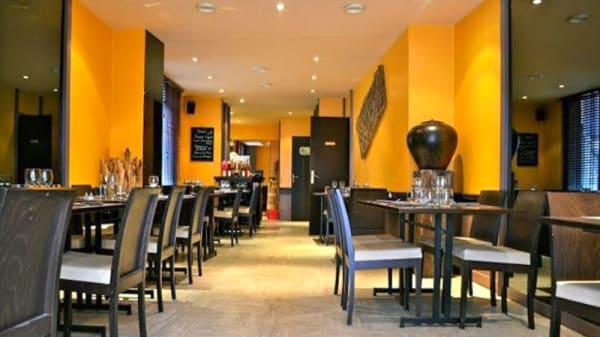 Salle du restaurant - Chez Yulin, Rouen