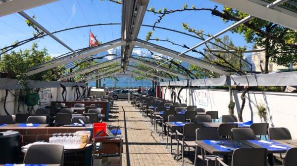 Terrasse - Café du Port, Vevey