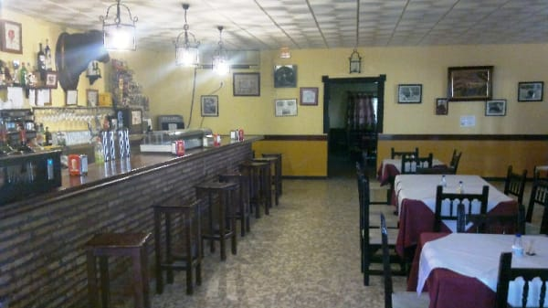 Vista del interior - Venta El Tentadero, Carmona