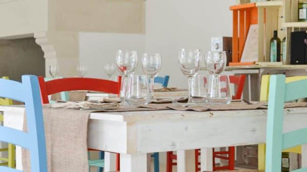 Vista sala - Tenuta Linazza, Castiglione, Andrano