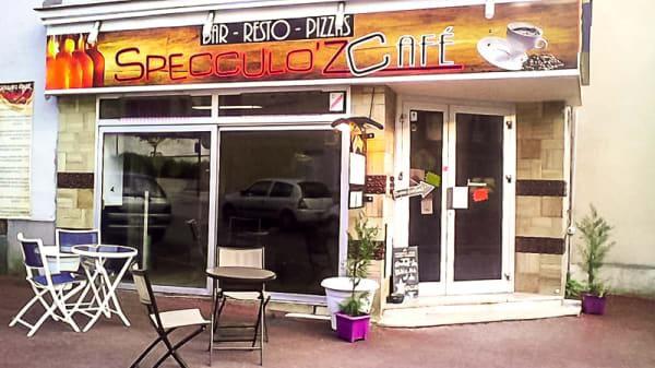 Entrée du bistrot - Specculo'z café, Rupt-sur-Moselle