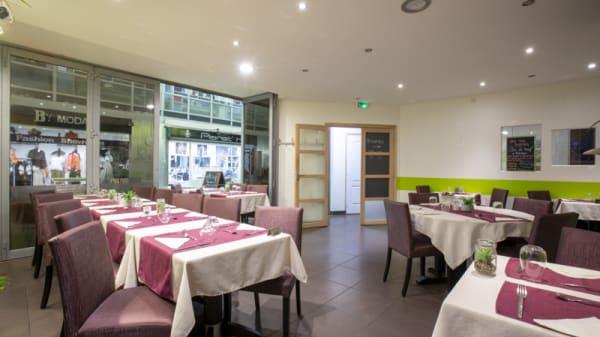Vue de la salle - Green up Café, Annemasse