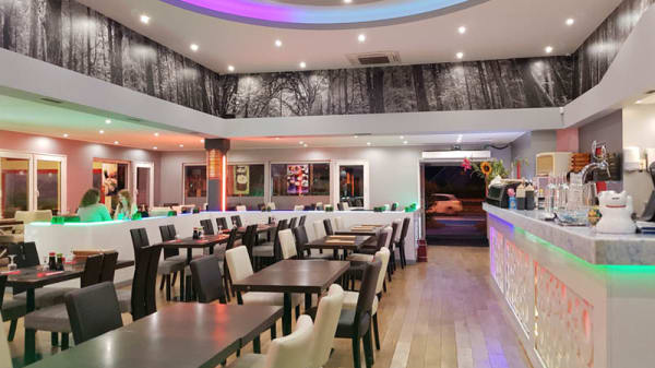 Salle du restaurant - Hoki Sushi, Herblay
