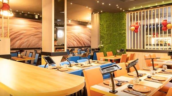 Vista sala - Umi Sushi Restaurant, Rome